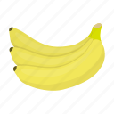banana, food, fresh, fruit, health, vitamin icon