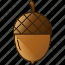 acorn, diet, food, fruit, healthy icon