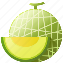 diet, food, fruit, healthy, melon