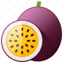 diet, food, fruit, healthy, passionfruit