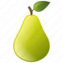 diet, food, fruit, healthy, pear icon