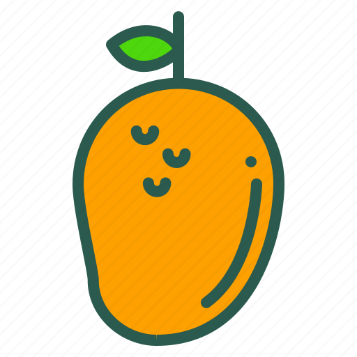 Food, fruit, healthy, mango icon - Download on Iconfinder