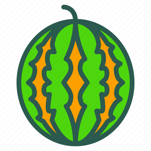 Food, fruit, healthy, watermelon icon - Download on Iconfinder