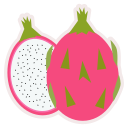food, fresh, fruit, healthy, meal, pitahaya icon