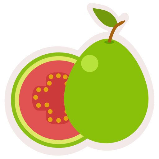 Food, fresh, fruit, guava, healthy, meal icon - Free download