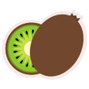 food, fresh, fruit, healthy, kiwi, meal icon