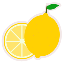 food, fresh, fruit, healthy, lemon, meal icon