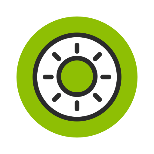 fruit, green, kiwi, sweet, vegetable icon
