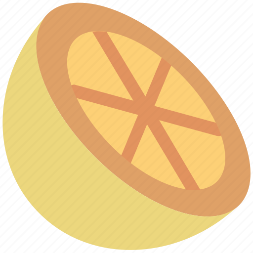 citrus, citrus half, food, fruit, lemon, lemon half, lime icon