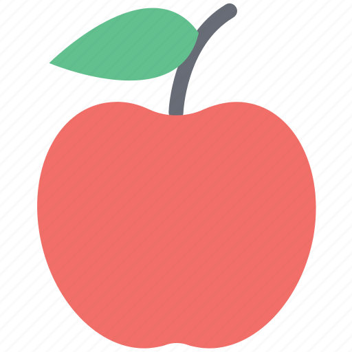 apple, apple fruit, food, fruit, healthy food, red icon