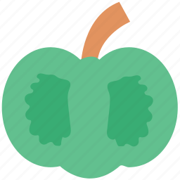 bell pepper, capsicum, paprika, pepper, pimiento, sweet pepper icon