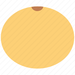 cantaloupe melon, food, fruit, melon icon