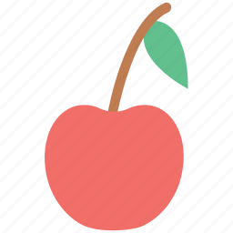 cherry, cherry fruit, food, fresh, fruit, healthy food icon