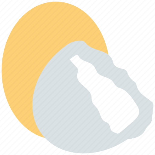 boiled egg, egg, eggs yolk, food, yolk icon