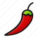 farm, fresh, healthy, nutrition, pepper, vegetables, vegetarian icon