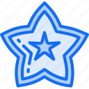 eating, food, fruit, health, star icon