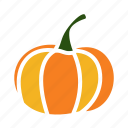 pumpkin, vegetable, food, halloween