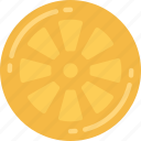 eating, food, fruit, health, lemon, slice icon