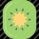 eating, food, fruit, health, kiwi icon