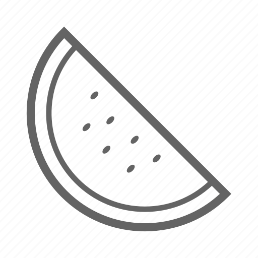 fruit, healthy, market, vegetarian, vitamin, watermelon icon