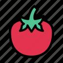 food, fruit, healthy, organic, persimmon