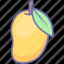 fruit, fruits, mango icon