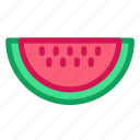 berry, food, fruit, health, vitamin, watermelon icon