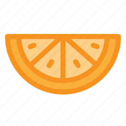 food, fruit, health, orange, vitamin icon