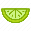 food, fruit, health, lime, vitamin icon