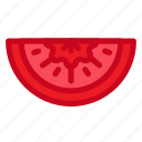 food, health, tomato, vegetable, vitamin icon