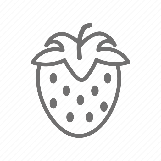 cake, dessert, food, fresh, fruit, strawberries, strawberry icon