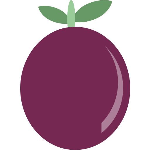 fruit, passion icon