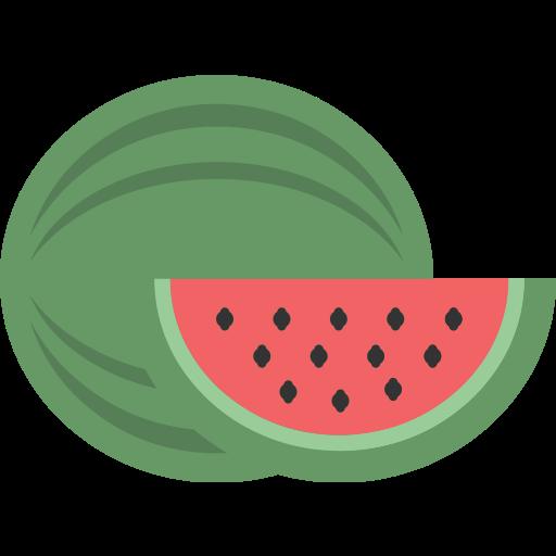 fruit, watermellon icon