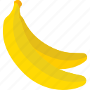 banana, food, fruits, sweet icon