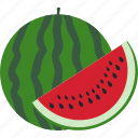 berry, food, fruits, watermelone icon