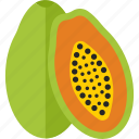 food, fruits, sheet, sweet icon