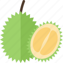 food, fruits, green, sheet icon
