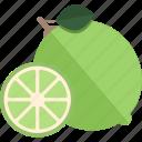 food, fruits, lime, sheet