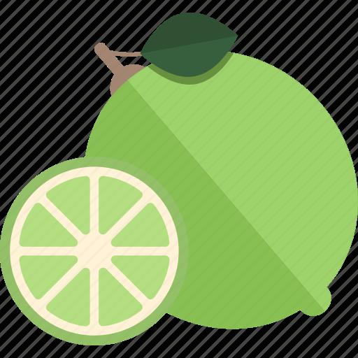 food, fruits, lime, sheet icon