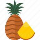 food, fruits, pineapple, sweet icon