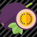 food, fruits, lobule, pulm icon