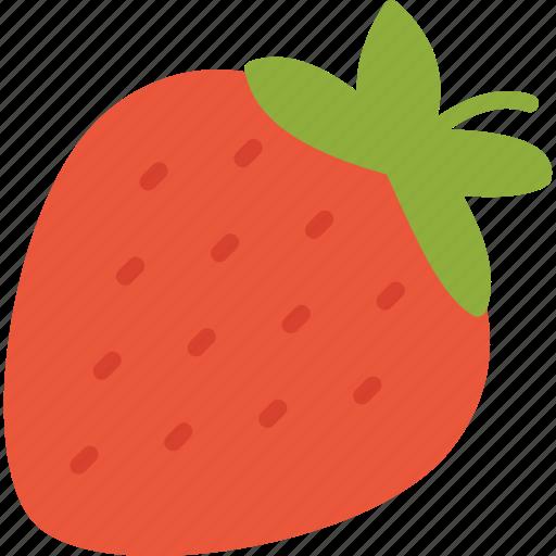 food, fruit, fruits, strawberry icon