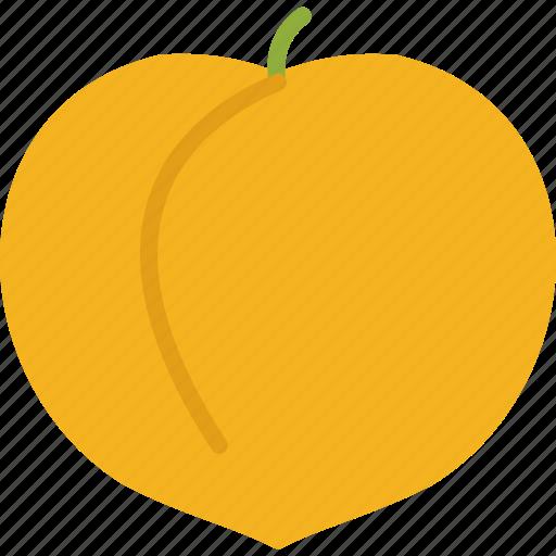 food, fruit, fruits, peach icon