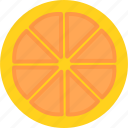 food, fruit, fruits, orange icon