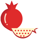 food, fruit, fruits, pomogranate icon