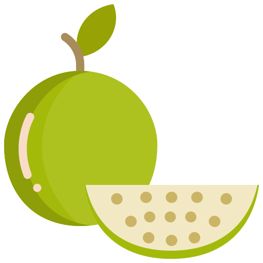 food, fruit, fruits, guava icon