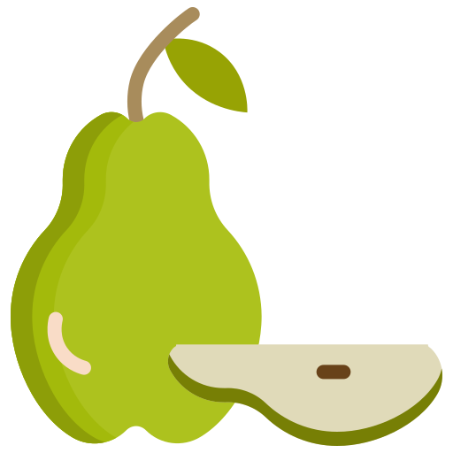 food, fruit, fruits, pear icon