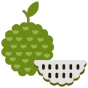 custard apple, food, fruit, fruits icon