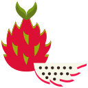 dragon fruit, food, fruit, fruits icon
