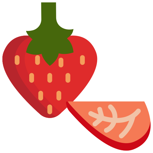 food, fruit, fruits, strawberry icon
